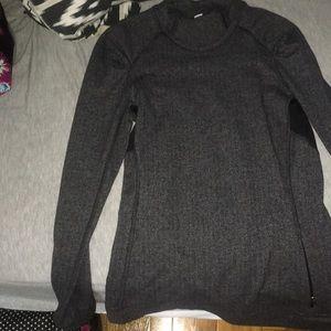 LuLu Lemon Active Sweatshirt Grey